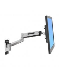 """Ergotron LX Sit-Stand Wall Mount LCD Arm 106.7 cm (42"""") Stainless steel Ergotron 45-353-026 - 1"""