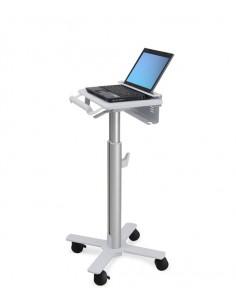 Ergotron StyleView Laptop Cart, SV10 Aluminium, White Notebook Multimedia cart Ergotron SV10-1100-0 - 1