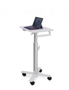 Ergotron StyleView S-Tablet Cart, SV10 Alumiini, Valkoinen Tabletti Multimediakärry Ergotron SV10-1800-0 - 1