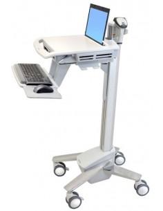 Ergotron StyleView EMR Laptop Cart, SV40 Aluminium, Grey, White Notebook Multimedia cart Ergotron SV40-6100-0 - 1
