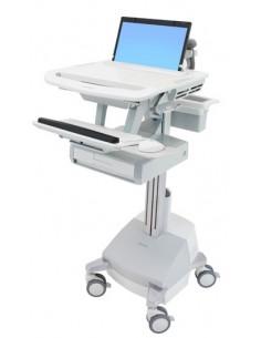Ergotron SV44-1111-C multimedia cart/stand Aluminium, Grey, White Notebook Ergotron SV44-1111-C - 1