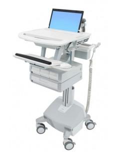 Ergotron SV44-1142-C multimedia cart/stand Aluminium, Grey, White Notebook Ergotron SV44-1142-C - 1