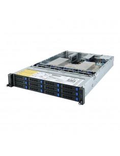 Gigabyte R282-Z90 Socket SP3 Rack (2U) Svart Gigabyte 6NR282Z90MR-00 - 1