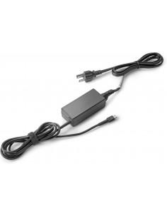 HP 1HE07AA virta-adapteri ja vaihtosuuntaaja Sisätila 45 W Musta Hp 1HE07AA#ABB - 1