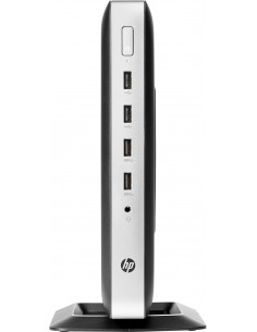 HP t630 2 GHz GX-420GI Windows Embedded Standard 7E 1.52 kg Silver, Svart Hp 2RC41EA#AK8 - 1
