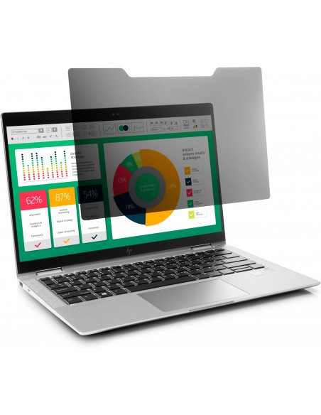 """HP 6NX86AA display privacy filters Frameless filter 33.8 cm (13.3"""") Hp 6NX86AA - 3"""