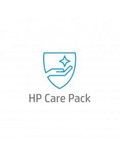 HP :n 3 vuoden vaihto-osapalvelu ja laitteistotuki seuraavana arkipäivänä, DesignJet Z6-24, 1 rulla (vain kanava) Hp U9YY1E - 1