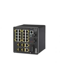 Cisco IE-2000-16TC-G-N nätverksswitchar hanterad L2 Fast Ethernet (10/100) Svart Cisco IE-2000-16TC-G-N - 1