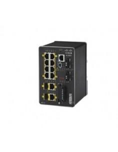 Cisco IE-2000-8TC-G-E verkkokytkin Hallittu Fast Ethernet (10/100) Musta Cisco IE-2000-8TC-G-E - 1