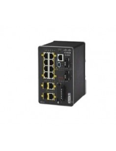 Cisco IE-2000-8TC-G-L nätverksswitchar hanterad Fast Ethernet (10/100) Svart Cisco IE-2000-8TC-G-L - 1