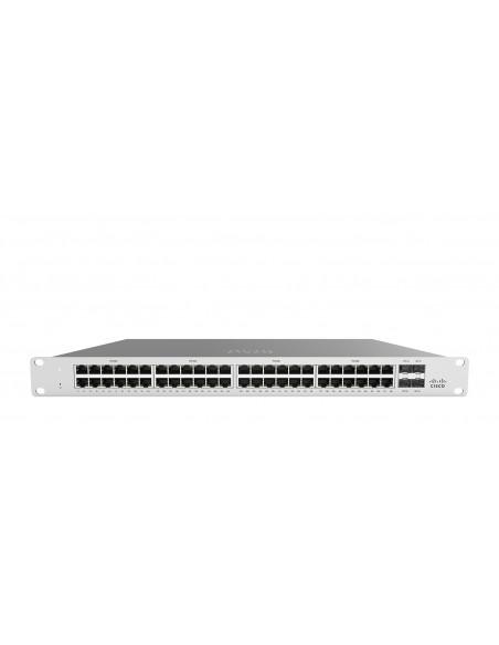 Cisco Meraki MS120-48LP hanterad L2 Gigabit Ethernet (10/100/1000) Strömförsörjning via (PoE) stöd 1U Grå Cisco MS120-48LP-HW -