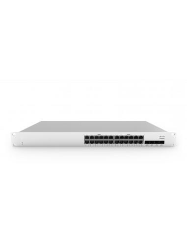 Cisco MS210-24-HW network switch Managed L3 Gigabit Ethernet (10/100/1000) 1U Silver Cisco MS210-24-HW - 1