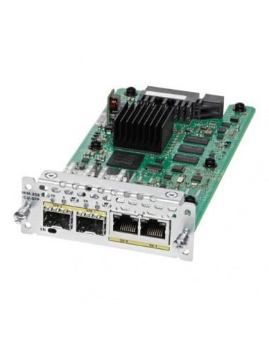 Cisco NIM-2GE-CU-SFP= network switch module Gigabit Ethernet Cisco NIM-2GE-CU-SFP= - 1