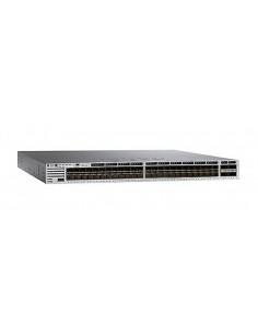 Cisco Catalyst 3850-48XS-S hanterad Inget Svart, Grå Cisco WS-C3850-48XS-S - 1