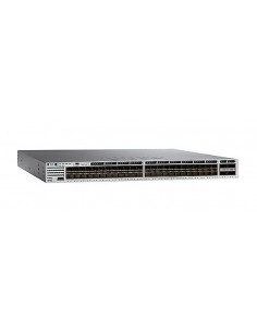 Cisco Catalyst 3850-48XS-S Managed None Black, Grey Cisco WS-C3850-48XS-S - 1