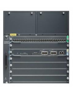 Cisco Catalyst WS-C4507RE+96V+ nätverksswitchar hanterad Gigabit Ethernet (10/100/1000) Strömförsörjning via (PoE) stöd 11U Cisc