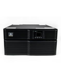 Vertiv Liebert GXT4-6000RT230E UPS-virtalähde Taajuuden kaksoismuunnos (verkossa) 6000 VA 4800 W 8 AC-pistorasia(a) Vertiv GXT4-