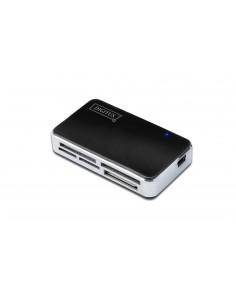 Digitus DA-70322-1 kortinlukija USB 2.0 Musta, Hopea Digitus DA-70322-1 - 1