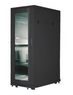 Digitus DN-19 SRV-26U-B-G-1 rack cabinet Freestanding Black Digitus DN-19 SRV-26U-B-G-1 - 1