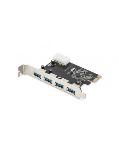 Digitus DS-30221-1 nätverkskort Intern USB 5000 Mbit/s Digitus DS-30221-1 - 1