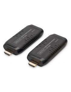 Digitus DS-55309 AV-signaalin jatkaja AV-lähetin ja -vastaanotin Musta Digitus DS-55309 - 1
