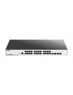 D-Link DGS-3000-28X verkkokytkin Hallittu L2 Gigabit Ethernet (10/100/1000) 1U Musta D-link DGS-3000-28X - 1
