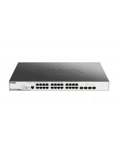 D-Link DGS-3000-28XMP network switch Managed L2 Gigabit Ethernet (10/100/1000) Power over (PoE) 1U Black D-link DGS-3000-28XMP -