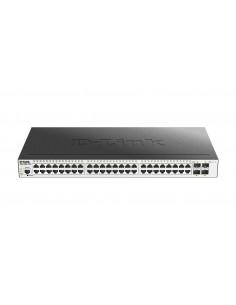 D-Link DGS-3000-52X verkkokytkin Hallittu L2 Gigabit Ethernet (10/100/1000) 1U Musta D-link DGS-3000-52X - 1
