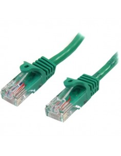 StarTech.com 45PAT50CMGN verkkokaapeli Vihreä 0.5 m Cat5e U/UTP (UTP) Startech 45PAT50CMGN - 1