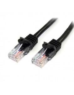 StarTech.com 45PAT7MBK verkkokaapeli Musta 7 m Cat5e U/UTP (UTP) Startech 45PAT7MBK - 1
