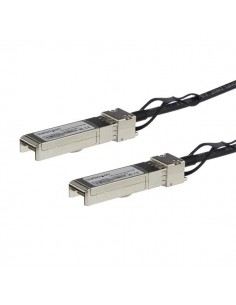 StarTech.com MSA Uncoded Compatible 1m 10G SFP+ to Direct Attach Breakout Cable Twinax - 10 GbE Copper DAC Gbps Low Power Starte