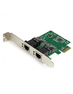 StarTech.com Dual Port Gigabit PCI Express Server Network Adapter Card - PCIe NIC Startech ST1000SPEXD4 - 1