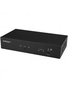 StarTech.com ST121HDBTRP AV-signaalin jatkaja AV-toistin Musta Startech ST121HDBTRP - 1