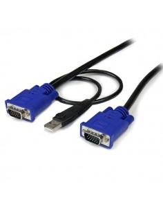 StarTech.com 6 ft 2-in-1 Ultra Thin USB Startech SVECONUS6 - 1