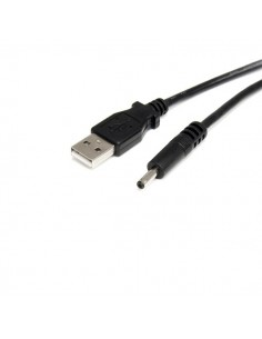 StarTech.com USB2TYPEH virtajohto Musta 0.9 m USB A Barrel type H Startech USB2TYPEH - 1