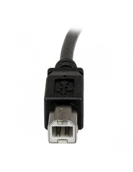 StarTech.com USBPNLAFBM3 USB-kaapeli 0.9 m USB 2.0 A B Musta Startech USBPNLAFBM3 - 5