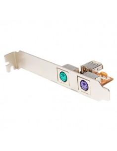 StarTech.com USB - PS/2 Converter Adapter liitäntäkortti/-sovitin 1.1 Startech USBPS2PLATE - 1