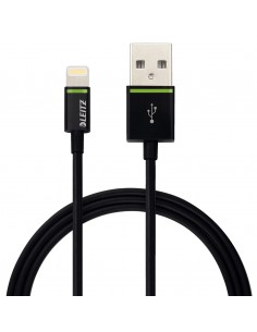 Leitz Complete Lightning to USB Cable XL, 2 m Kensington 62130095 - 1