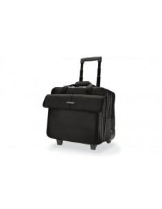 """Kensington SP100 laukku kannettavalle tietokoneelle 39.6 cm (15.6"""") Tietokonelaukku pyörillä Musta Kensington K62565EU - 1"""