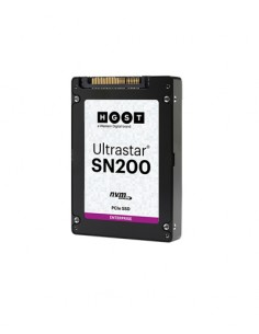 "Western Digital Ultrastar SN200 2.5"" 3840 GB PCI Express 3.0 MLC NVMe Hgst 0TS1356 - 1"