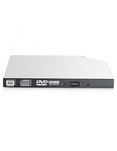 HP 9.5mm SATA DVD-RW JackBlack Gen9 Optical Drive optiska enheter Hp 726537-B21 - 1