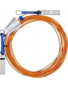 Hewlett Packard Enterprise 20 Meter InfiniBand FDR QSFP V-series Optical Cable InfiniBand-kablar m Hp 808722-B27 - 1