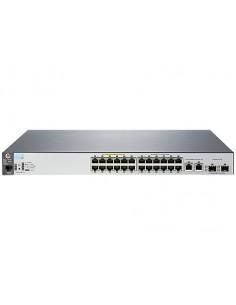 Hewlett Packard Enterprise Aruba 2530 24 PoE+ Managed L2 Fast Ethernet (10/100) Power over (PoE) 1U Grey Hp J9779A#ABB - 1