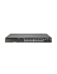 Hewlett Packard Enterprise Aruba 3810M 24G PoE+ 1-slot Switch hanterad L3 Gigabit Ethernet (10/100/1000) Strömförsörjning via Hp