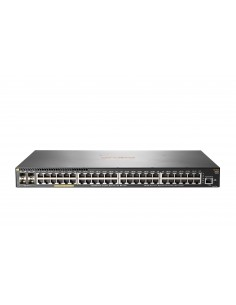 Hewlett Packard Enterprise Aruba 2930F 48G PoE+ 4SFP Hallittu L3 Gigabit Ethernet (10/100/1000) Power over -tuki 1U Harmaa Hp JL