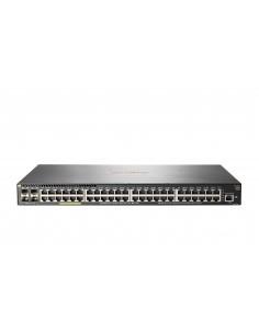 Hewlett Packard Enterprise Aruba 2930F 48G PoE+ 4SFP+ TAA Hallittu L3 Gigabit Ethernet (10/100/1000) Power over -tuki 1U Harmaa