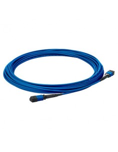 Hewlett Packard Enterprise QK729A fibre optic cable 10 m MPO OM4 Blue Hp QK729A - 1