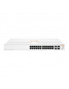 Hewlett Packard Enterprise Aruba Instant On 1930 hanterad L2+ Gigabit Ethernet (10/100/1000) Strömförsörjning via (PoE) stöd 1U