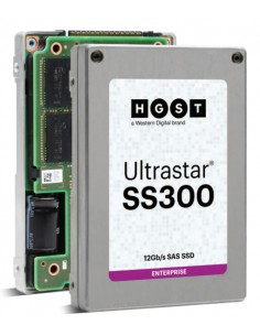 "Western Digital Ultrastar SS300 2.5"" 3840 GB SAS 3D TLC Western Digital 0B34959 - 1"