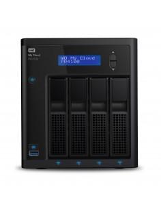 Western Digital My Cloud PR4100 NAS Skrivbord Nätverksansluten (Ethernet) Svart N3710 Western Digital WDBNFA0080KBK-EESN - 1